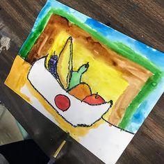 Elements of the Art Room: 2nd grade Paul Cezanne inspired Fruit bowls Fruit Art Kids, Kids Artwork, Paul Cezanne, French Artists, Fruit Bowls, Projects, Painting, Inspiration, Inspired