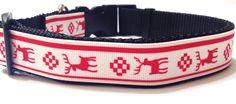 Dog Collar Reindeer Classic - $16.95