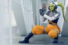 Expert 'Star Wars Rebels' Hera Syndulla Cosplay