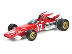 Ferrari 312 B (Jacky Ickx - Austrian GP 1970) in Red (1:43 scale by IXO SF27)