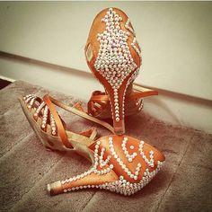 Custom Stoning - Aida Dance Shoes