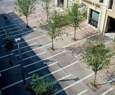 New pedestrian spaces — CZA Urban Architecture, Concept Architecture, Urban Landscape, Landscape Design, Car Park Design, Pavement Design, Paving Pattern, Paving Design, Modern Landscaping