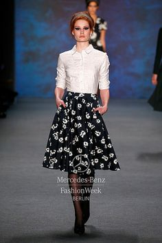 Mercedes-Benz Fashion Week Berlin – Focus On Fashion LENA HOSCHEK A/W 2015