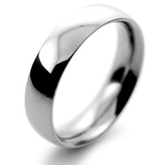 Platinum 5mm Heavy Court Wedding Ring Mens Sizes R to Z – 10.9 to 12.3 grams 30 Day Moneyback Guarantee