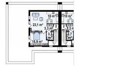 Современный стильный дом для двух семей с комфортабельными террасами | Компания Dom4m Беларусь | DOM4М в Беларуси