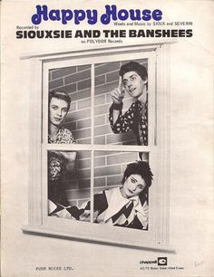 siouxsie and the banshees - happy house