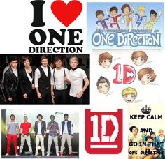 """Happy 2 birthday ONE DIRECTION"" by vampirelover7100 ❤ liked on Polyvore"