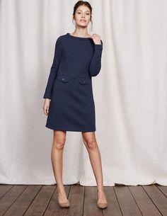 Sixties Jacquard Dress WW114 Day Dresses at Boden