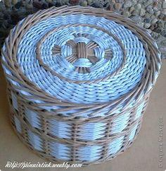 Поделка изделие Плетение Всякое  Бумага газетная Картон гофрированный Трубочки бумажные фото 30