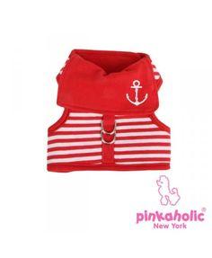 Arnés Pinkaholic Sailor rojo