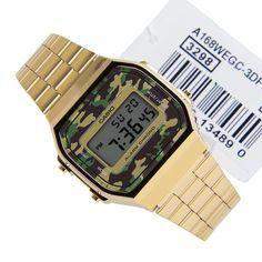 62edd1666d03 Casio Vintage Mens Watch A168WEGC-3DF A168WEGC-3D