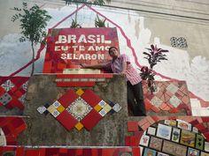 Sí, luego del paseo amé un poco más a Brasil. Aquí en las 'Escaleras de Selaron'  / #viajes #travel #viajesmuseo #traveller #travelling #vacation #placestovisit #trips