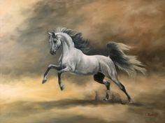 Arabian by Jeanne Newton Schoborg - Arabian Painting - Arabian Fine Art Prints and Posters for Sale
