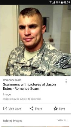 RSN Scammer Gallery Military Scammers 7552