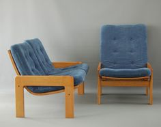 Seating group from the sixties by Yngve Ekström for Swedese