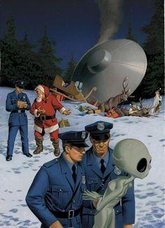 OVNI Hoje!Caso grave de acidente com OVNI na noite de Natal » OVNI Hoje!