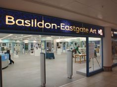 Basildon Eastgate Art Gallery, Eastgate Shopping Centre A voluntary run gallery open to all-comers, artists and public alike.