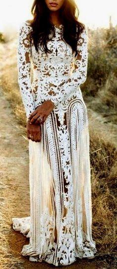 #fall #fashion / boho lace