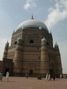 * Mausoléu do Shah Rukn-e-Alam *  Multan, Pquistão.