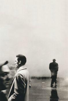 Steve Schapiro, Three Men, New York, 1961 Born in New York City in 1934, Steve Schapiro agraduated from Bard College. Schapiro's photographs were included in the Metropolitan Museum of Art's 1968...