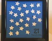 21st Birthday Guest Book / Signature Frame / Butterflies / Unique Gift / Memories / Keepsake / 18th 30th 40th 50th 60th 70th