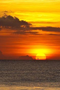 Kuta Beach Sunset, Bali, Indonesia