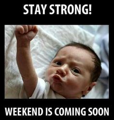 Yessss and weekend means FREEDOM!