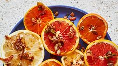 Citrus Crumble with Coconut and Nuts Recipe | Bon Appetit