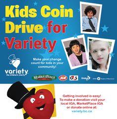 Kids Coin Drive