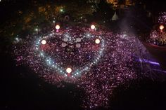 """Jun. 28, 2014. Suporters form a giant pink dot at """"Speakers' Corner"""" in Singapore. A gay rights rally was set to kick off in Singapore June 28, with organizers expecting tens of thousands of people to celebrate sexual diversity in the city-state despite fierce opposition from religious conservatives."""
