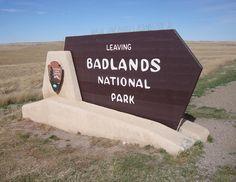 Badlands National Park Sign (Jackson County, South Dakota) | Flickr - Photo Sharing!