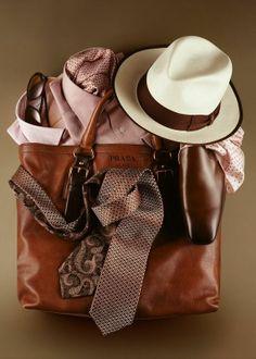 #Prada essentials for men.