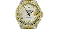 Valued at over $10,000! This Mother-of-Pearl Rolex is the absolute deal – get it for a fraction of retail here: http://prrm.ws/1FQLjEa