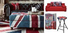 Pohodový interiérový dizajn. Taký je LONDON STYLE. Patrí medzi obľúbené modne hity interiérového dizajnu. Vychádza z potreby vytvoriť aj na malom priestore pocit harmónie. Typickým znakom symbol anglické vlajky a jej farebné tóny. Inšpirujte sa vo SCONTO Nábytku