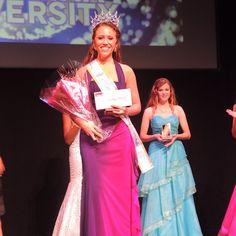 Coastal Carolina University is happy to congratulate Natalie Francis Harris on winning the 2014-15 #MissCCU crown!