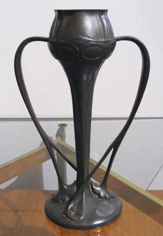 Tudric Pewter Vase