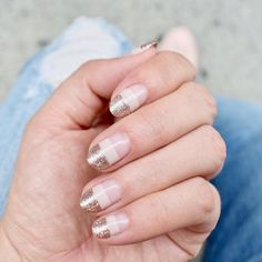Just because a nude polish matches your skin tone doesn't mean it's going to make your digits look boring or basic. They give you or your nail technician the perfect blank canvas to create straight-up magic on. Friendly Nails, Clear Nail Polish, Party Nails, Neutral Nails, Glitter, Nail Accessories, Painted Boxes, Nail Technician, Gold Nails