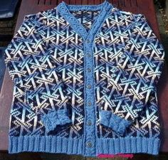Free men's Celtic knitting pattern knit a beautiful cardigan