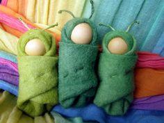Felt Caterpillar Handmade in Australia A by Rumpelfeltskin, $8.00