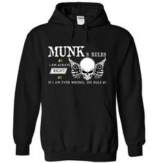 Awesome Tee MUNK Rule T-Shirts