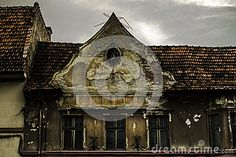 Photo about Creepy House Kronstadt One Part. Image of black, kronstadt, creepy - 96774104 Creepy Houses, Stock Photos, Image, Black, Spook Houses, Black People