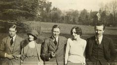 The 4 Do's in 1919 (from left) Prince Edward, Freda Dudley Ward, Prince Albert and Sheila Chisholm with Edward's equerry, Edward 'Fruity' Metcalfe. Photo: Rosslyn Collection