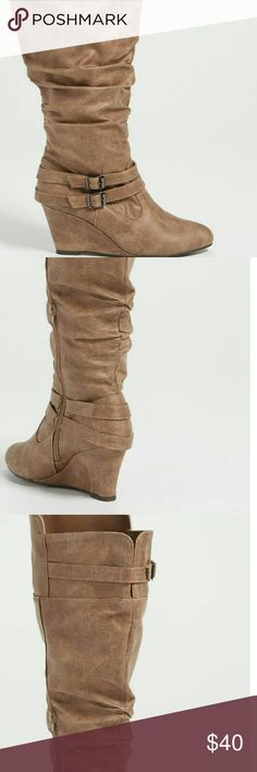 NEW in Box Maurices Wedge Boots sz 11 Sz 11 Maurices new in the box Wedges Boots maurices  Shoes Combat & Moto Boots