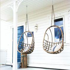 rattan porch swings