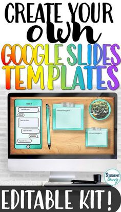 Looking for an engaging, digital tool that you can reuse over and over for ANY subject or grade level? If so, you have found the perfect Google Slides template resource for your classroom! The templates are a mock-up of a digital student desk - with 20 different designs of ipads, iphones, potted pla... Teaching Activities, Teaching Writing, Teaching Science, Teaching Ideas, Teaching Social Studies, Student Teaching, Reading Resources, Teacher Resources, School Site
