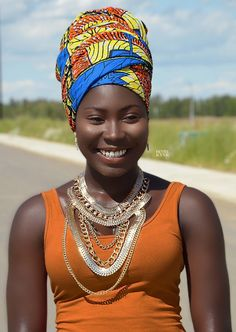 Beautiful Women of West Africa — afrorevolution: Model: . African Beauty, African Women, African Fashion, Most Beautiful Black Women, Beautiful Dark Skinned Women, Style Turban, Head Band, African Head Wraps, Black Goddess