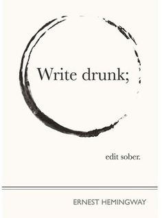 Text drunk, regret sober.