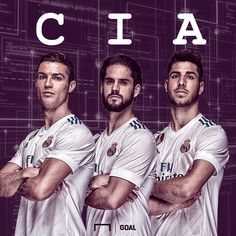 "28 Likes, 4 Comments - pichabros (@pichabross) on Instagram: ""It's time for the CIA (@cristiano & @iscoalarcon @marcoasensio10) #HalaMadrid #RealMadrid #CIA #CR7…"""