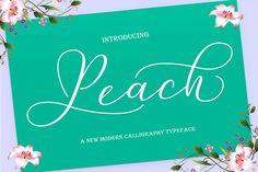 Peach Script from FontBundles.net