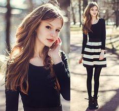 Http://Www.Sammydress.Com/ Dress - Stripes - Mary Volkova